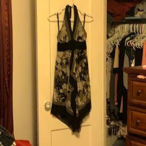 Halter dress from BCBGMAXAZRIA